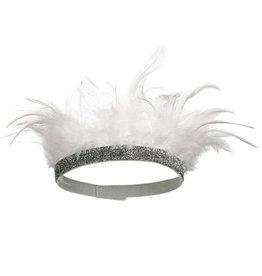 MERI MERI White Feather Crown