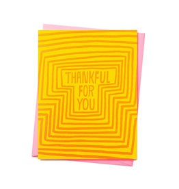 ASHKAHN & CO Thankful For You Card
