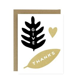 WORTHWHILE PAPER Give Thanks Card