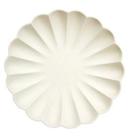 MERI MERI Scallop Eco Large Plates