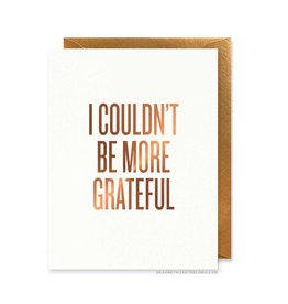READ BETWEEN THE LINES More Grateful Card