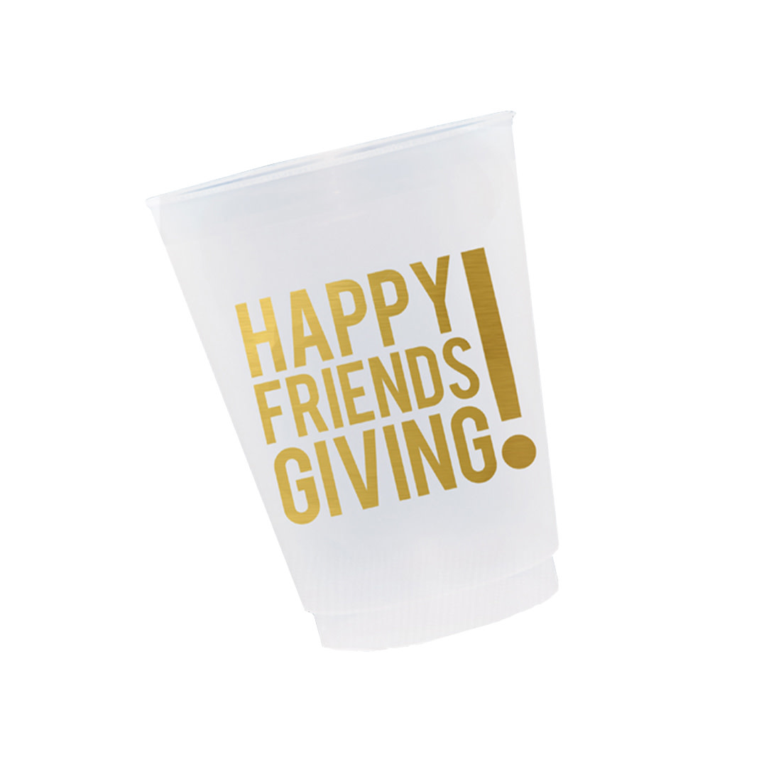 WHEN IT RAINS PAPER CO Friendsgiving Cups