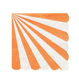 MERI MERI Orange Stripe Napkins