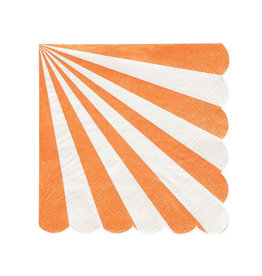 MERI MERI Orange Stripe Napkins