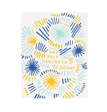 GOOD TWIN Bright Hanukkah Card