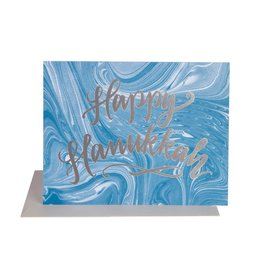 THE SOCIAL TYPE Hanukkah Marble Card