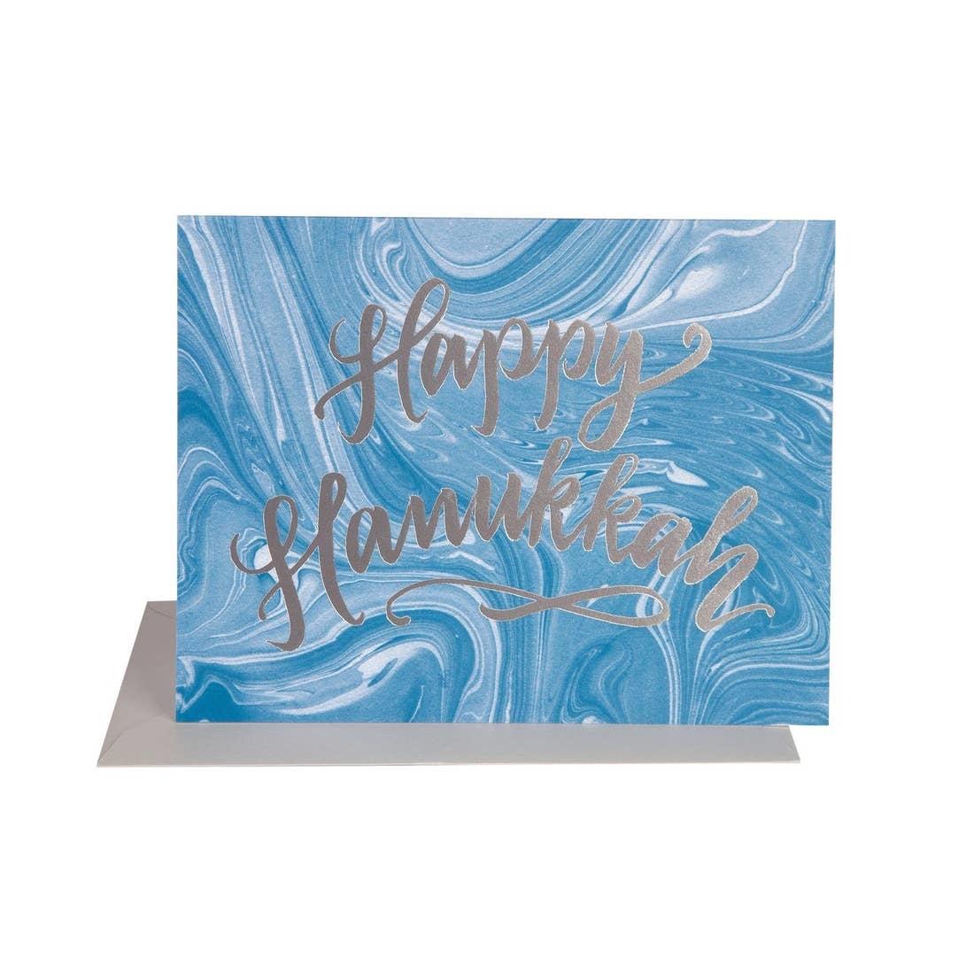 THE SOCIAL TYPE Hanukkah Marble Card