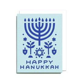 WORTHWHILE PAPER Happy Hanukkah Icons Card