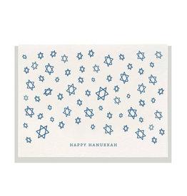 DAHLIA PRESS Hanukkah Stars Card