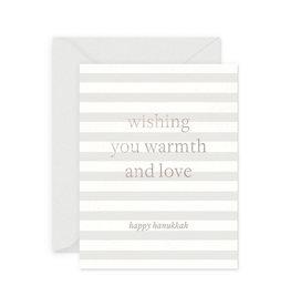 SMITTEN ON PAPER Warmth & Love Hanukkah Card