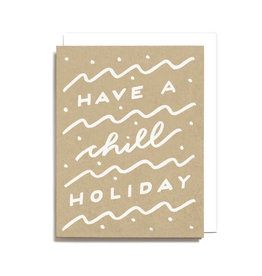 WORTHWHILE PAPER Chill Holiday Card