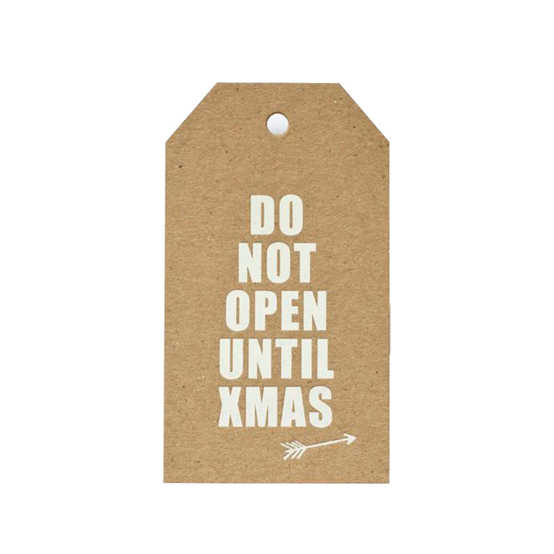 SUGAR PAPER Do Not Open Gift Tags