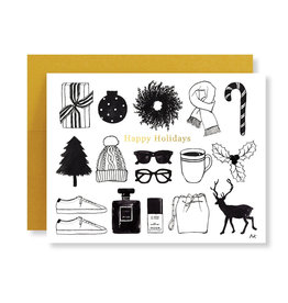 AKR DESIGN Holiday Items Card