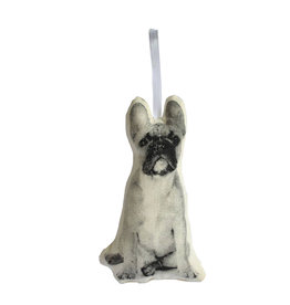 BRODERPRESS French Bulldog Ornament