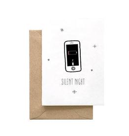 SPAGHETTI & MEATBALLS Silent Night Phone Card