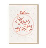 DAHLIA PRESS So Very Merry Card