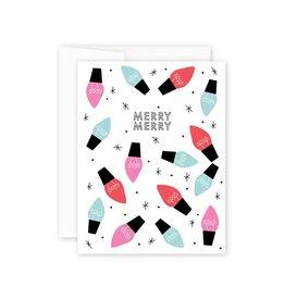 BIBA LETTERPRESS Merry Merry Card