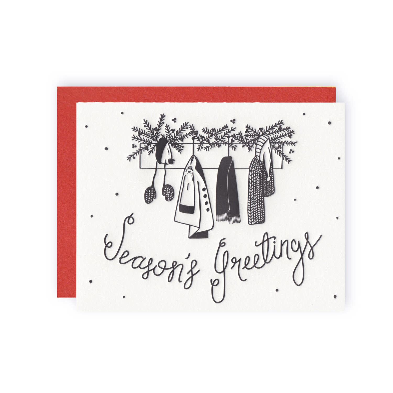 KB PAPERIE Season's Greetings Card