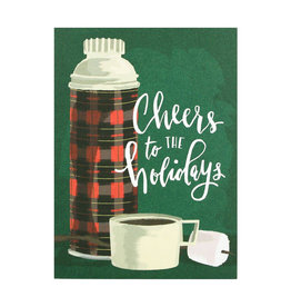 SMUDGE INK Holiday Cheers Card
