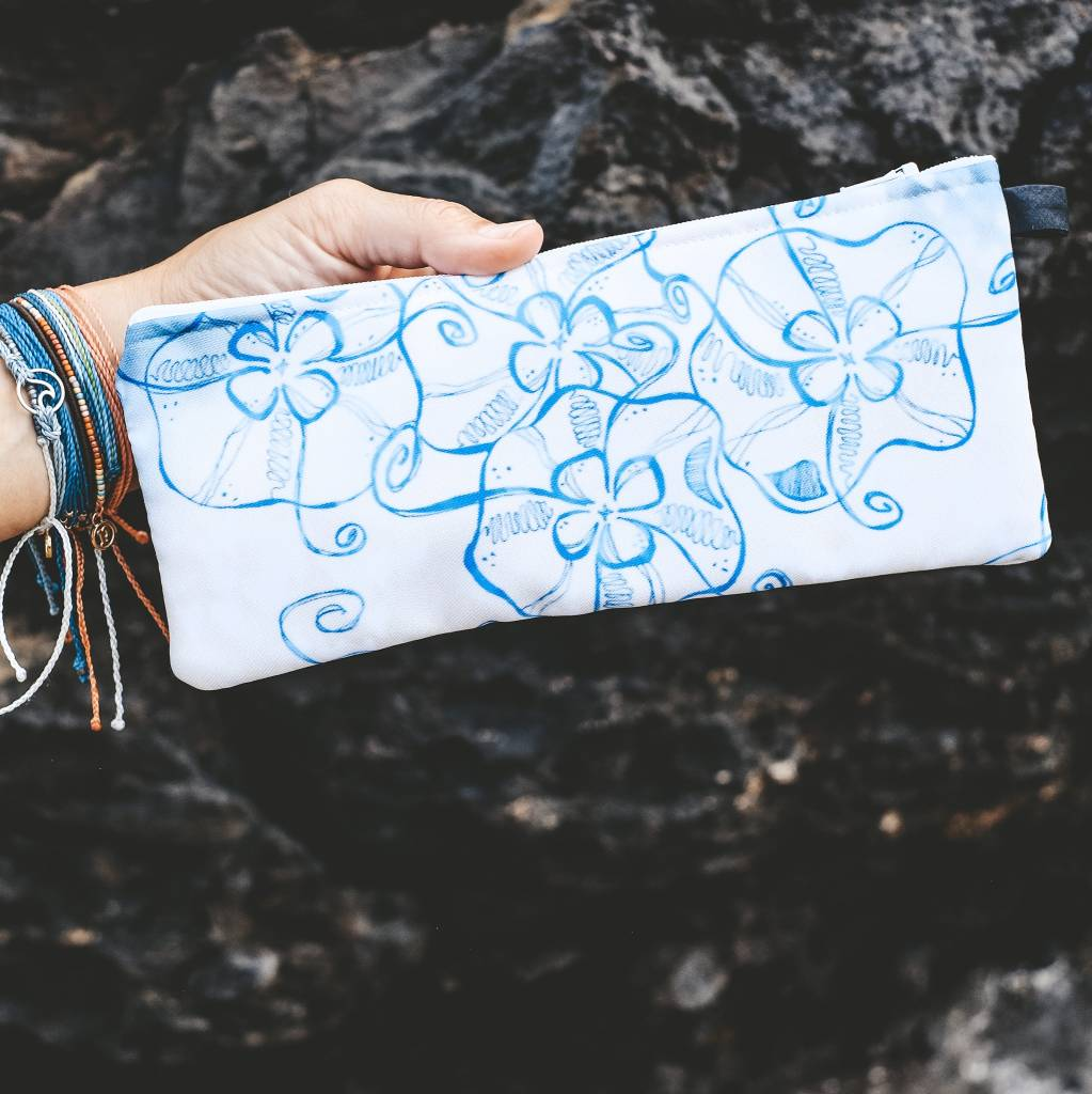 Jellyfish- Zippered Pouch, Small