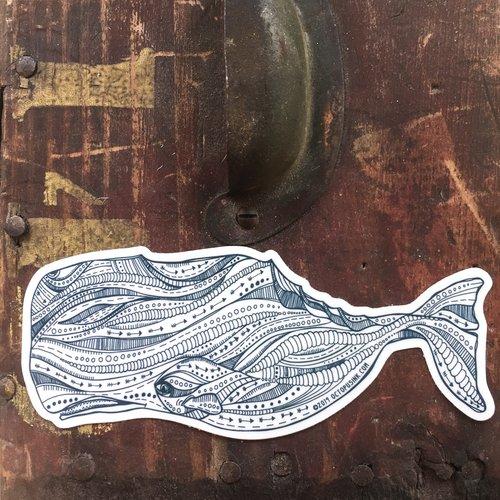 Sperm Whale- Decal