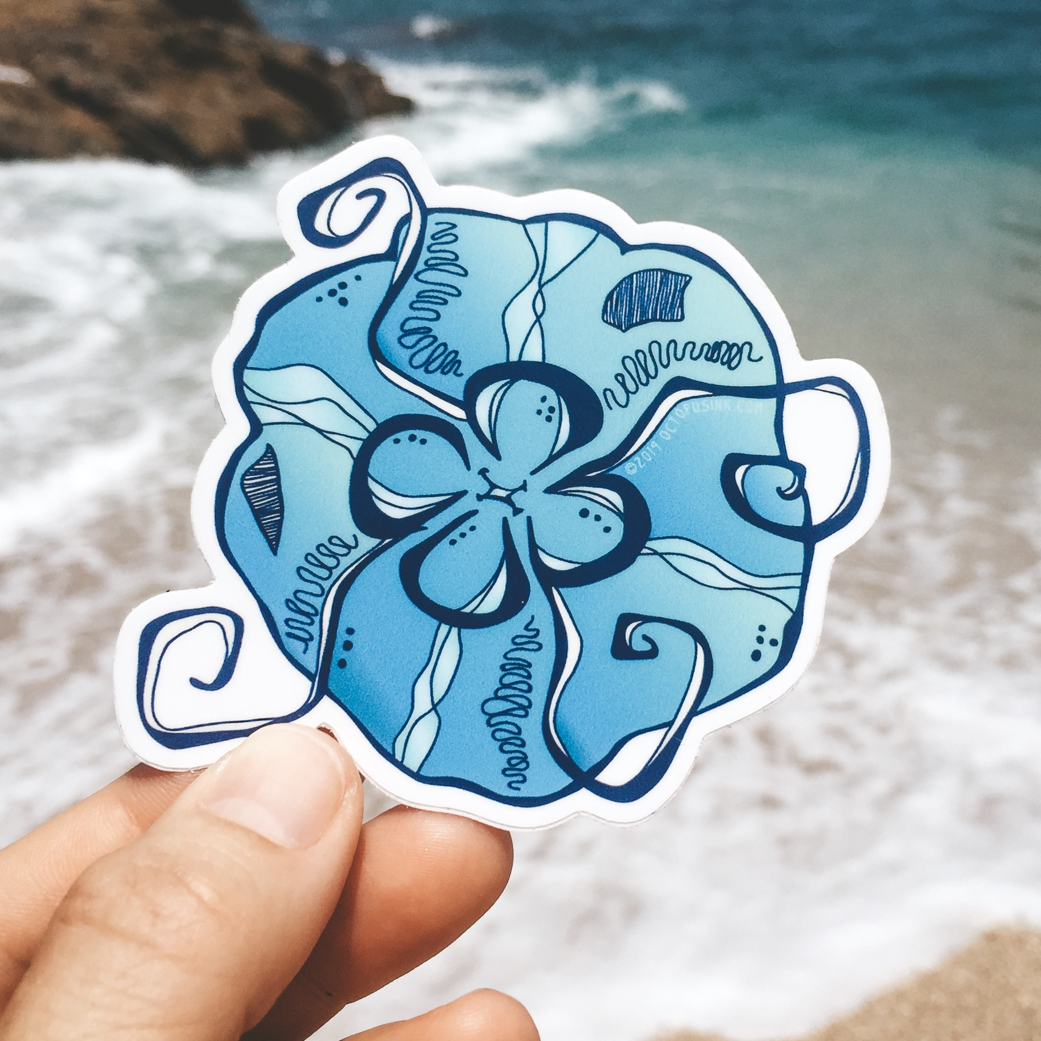 Moon Jelly- Decal