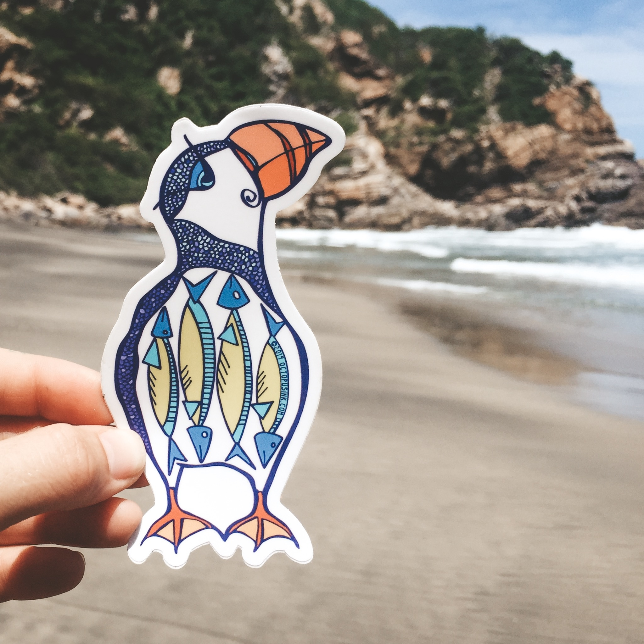 Puffin- Decal