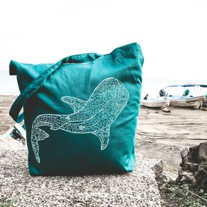 Whale Shark (Emerald)- Tote