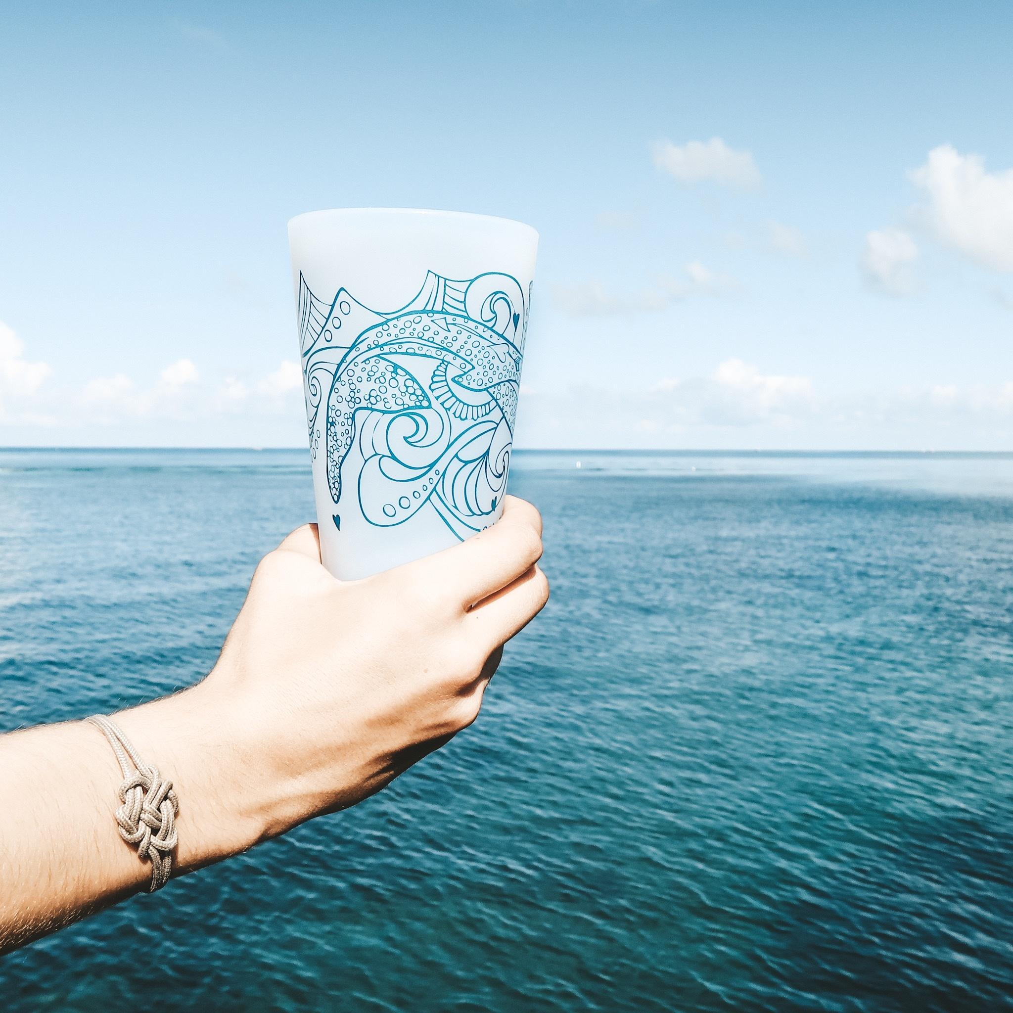 Whale Shark (Clear)- Pint