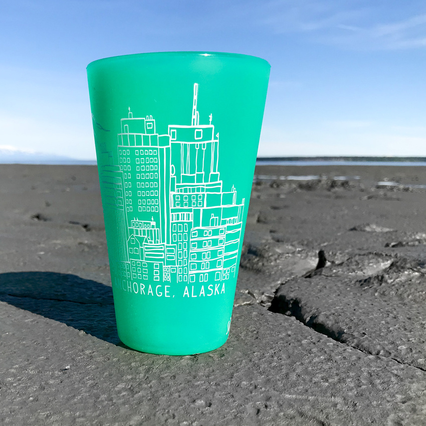 Skyline (Turquoise)- Pint