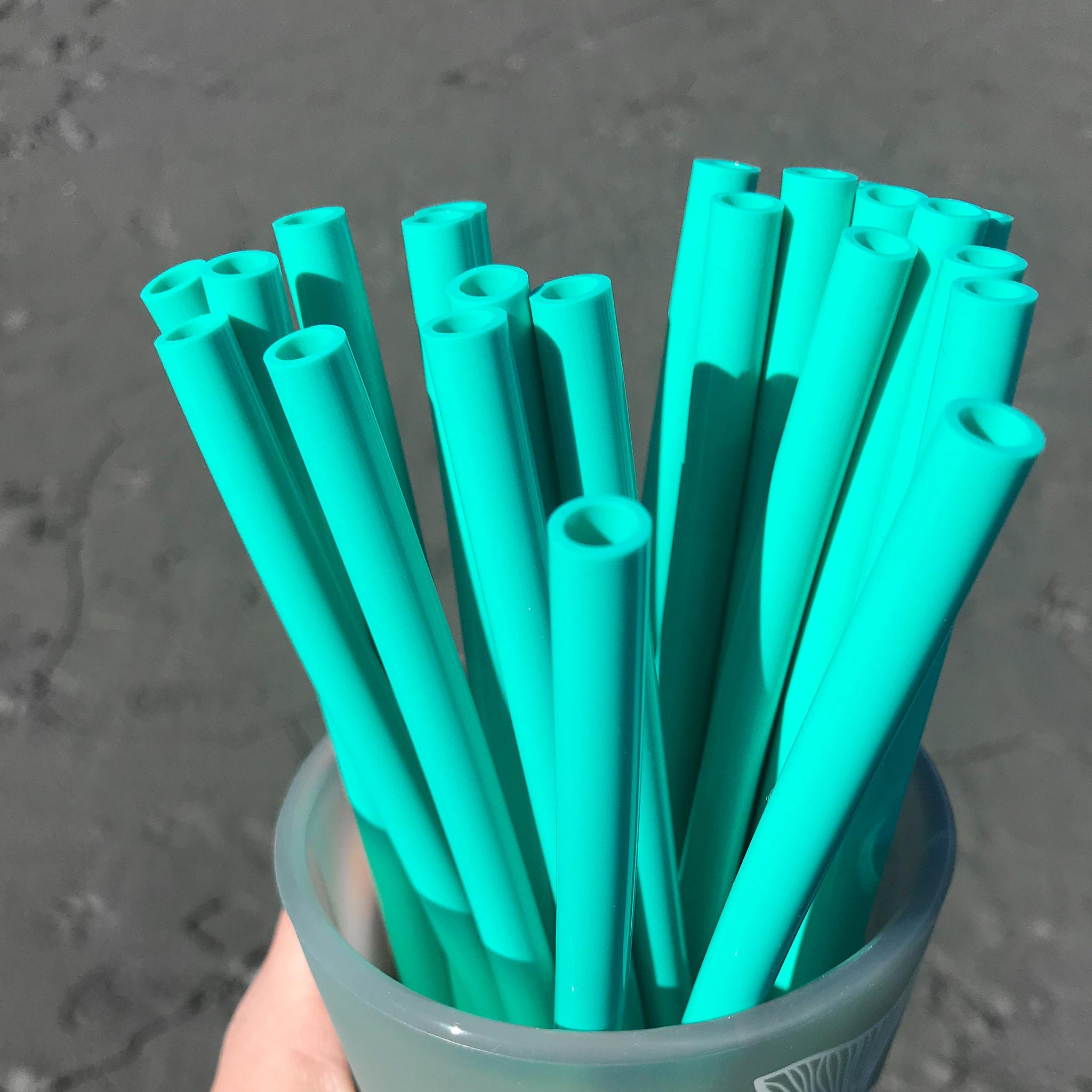 Straw- Turquoise