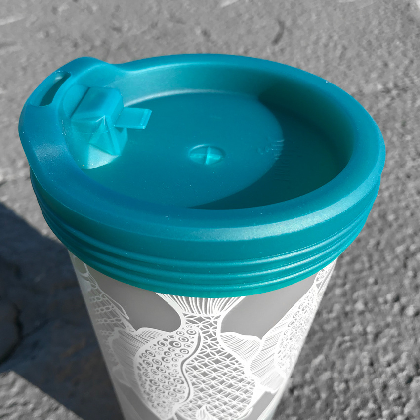 Silicone Travel Lid- Reef