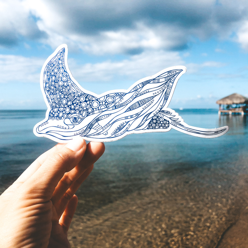 Eagle Ray- Decal