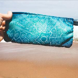 Green Sea Urchin- Zippered Pouch