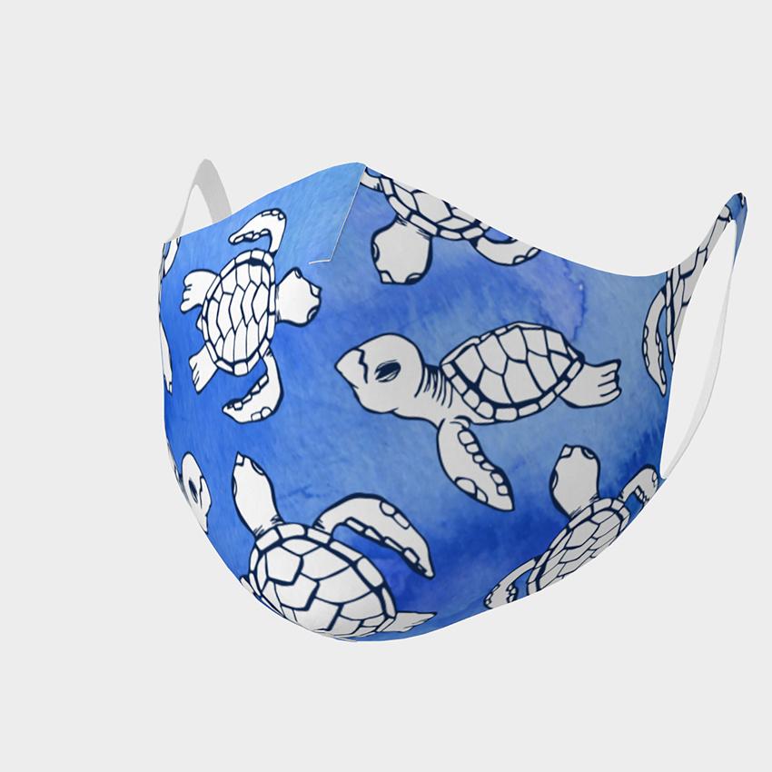 Sea Turtle Hatchling Mask, Adult