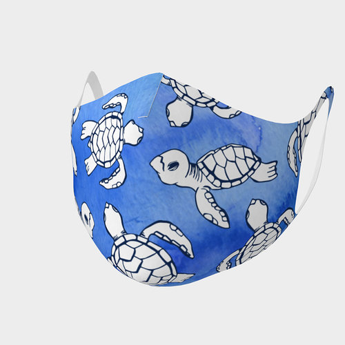 Sea Turtle Hatchlings Mask, Kids