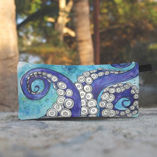 Octopus Love- Zippered Pouch
