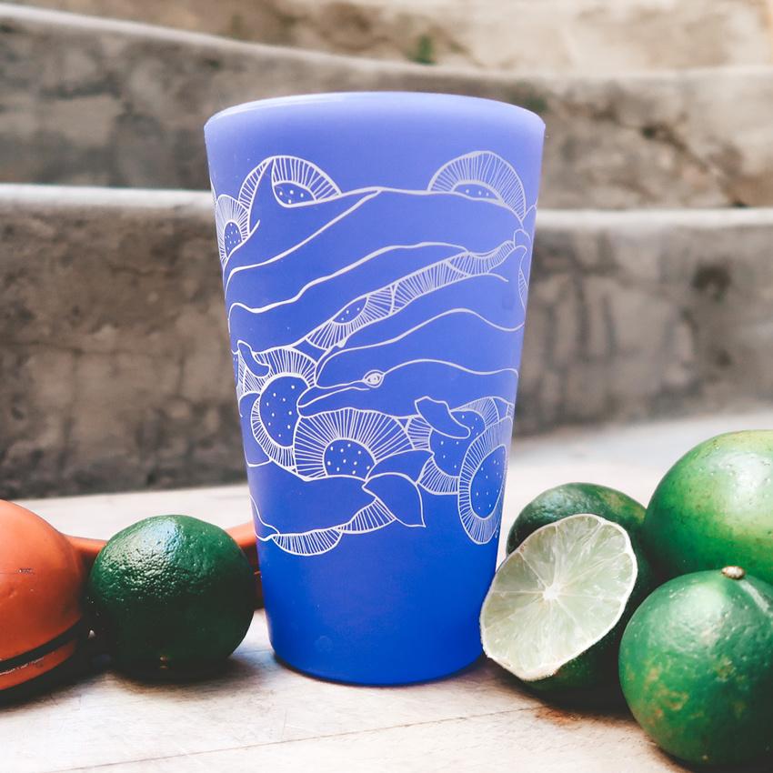 Wild Dolphins (Glow Ocean)- Pint