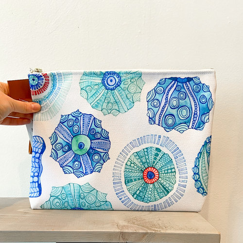 Urchins- Zippered Pouch, Large