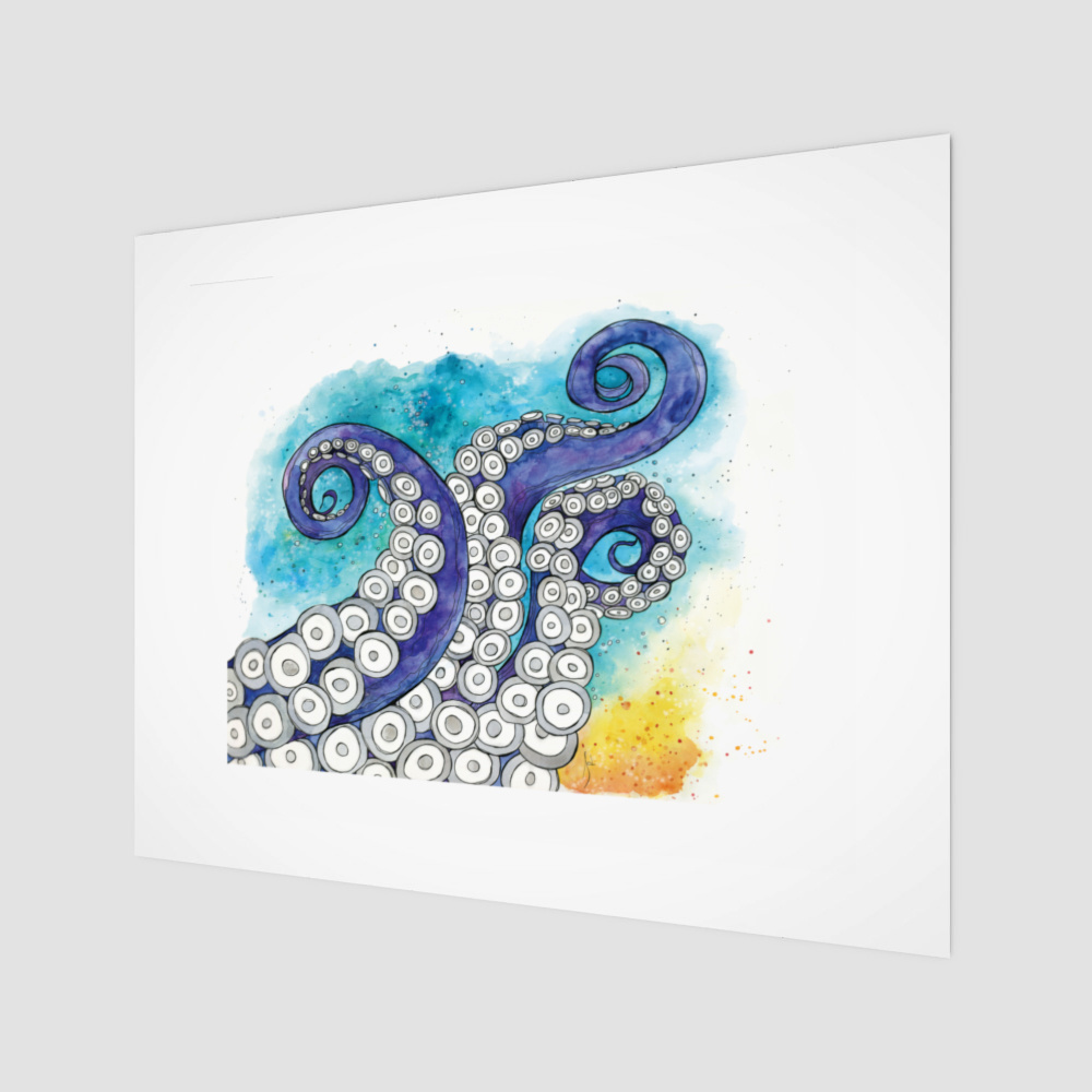 Tentacles- 11 x 14 Giclee