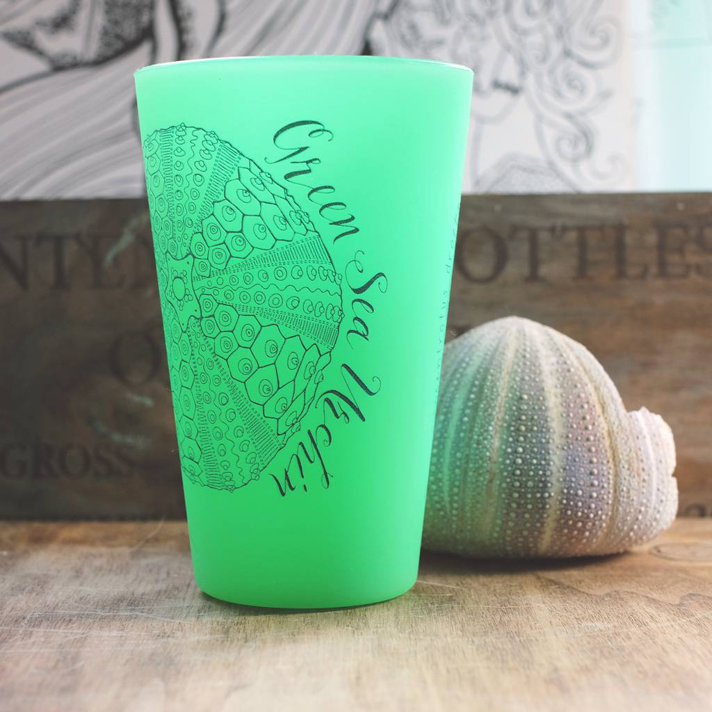 Green Sea Urchin (Glow Green)- Pint