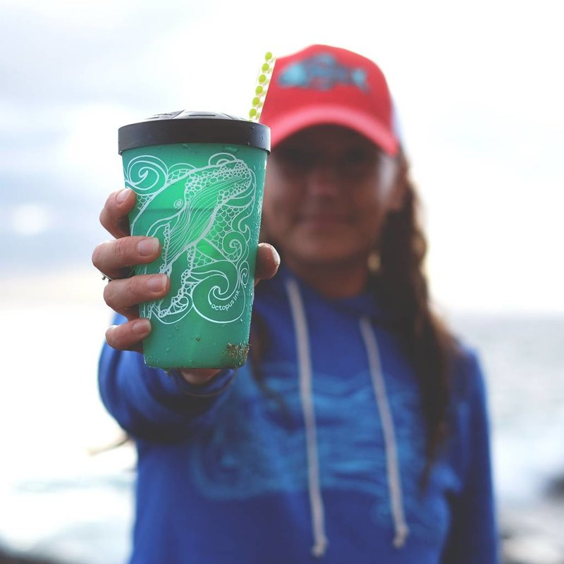 Humpback Whale (Turquoise)- Pint