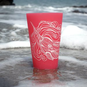 Narwhal (Red)- Pint