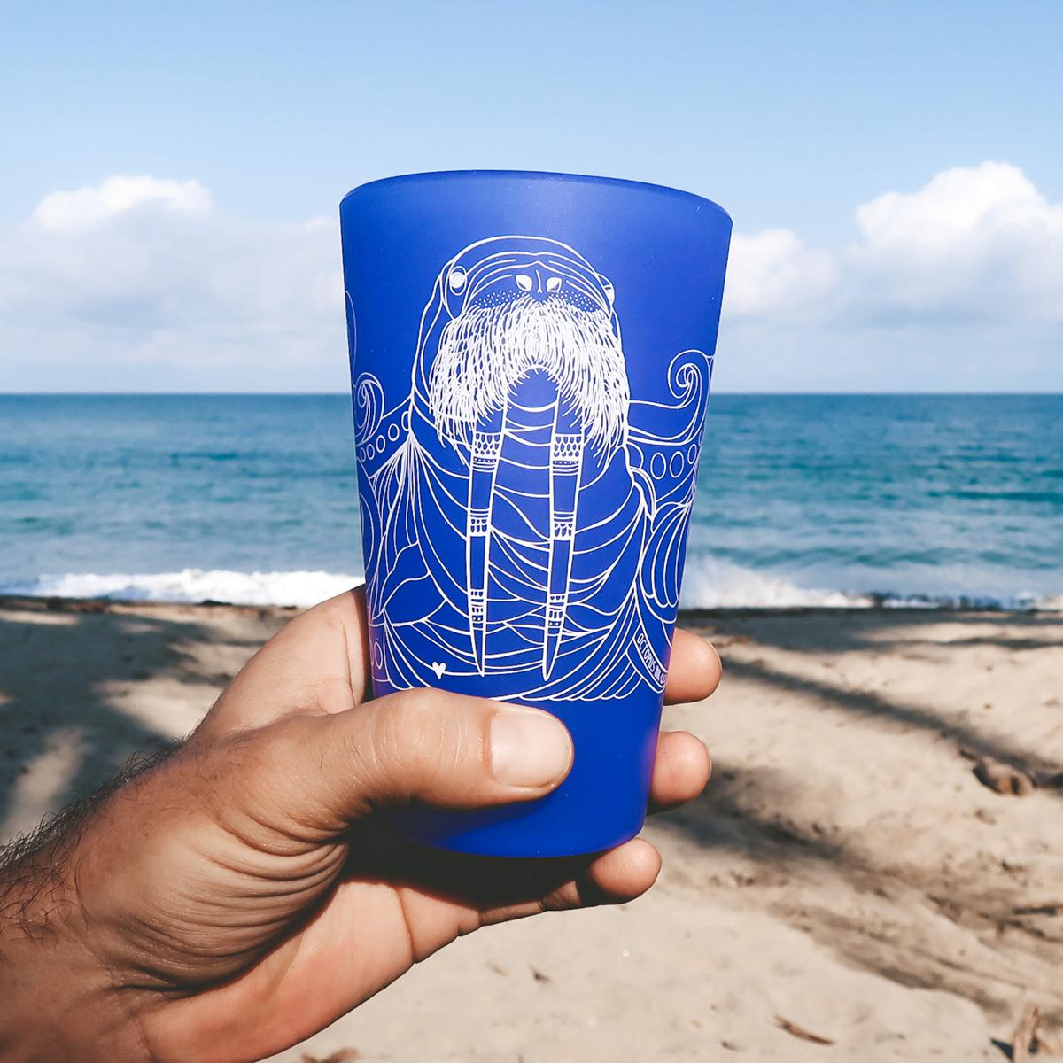 Walrus (Glow Ocean)- Pint