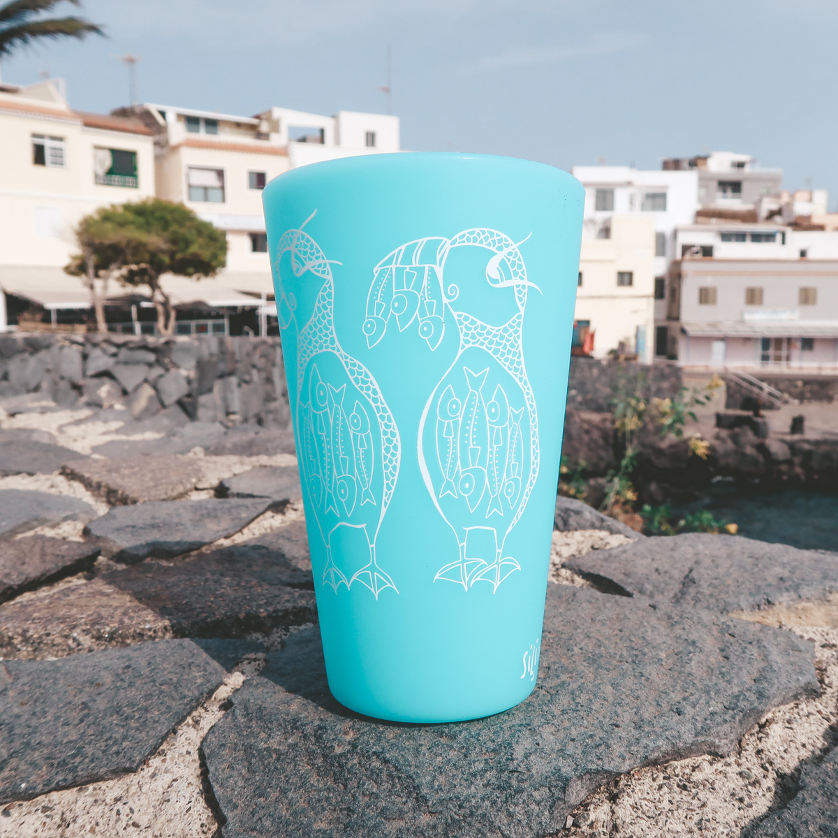 Puffin Family (Glow Caribbean)- Pint