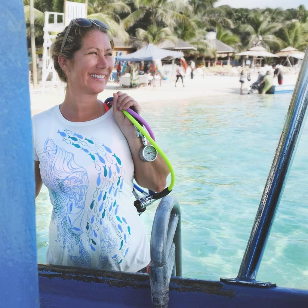 Reef Mermaid- Ladies Tee