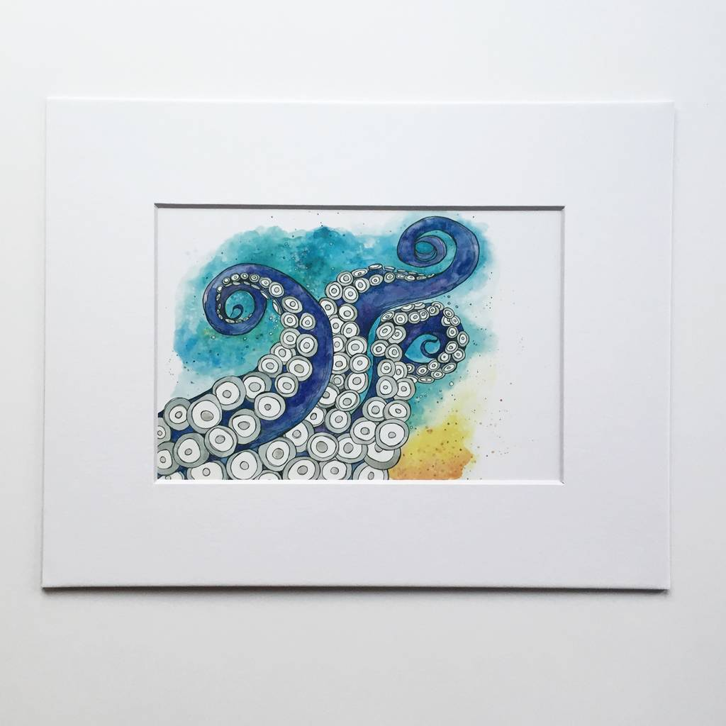 Tentacles- 5 x 7 Giclee