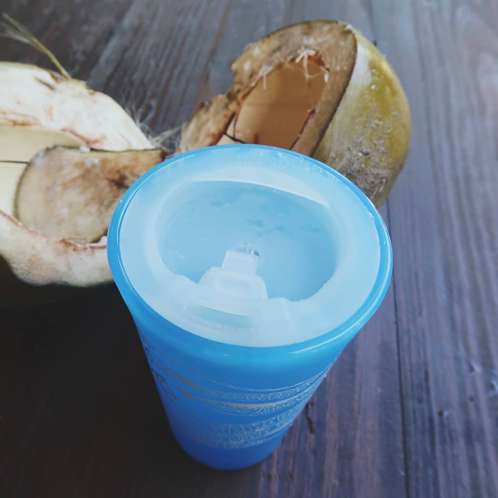 Silicone Travel Lid- White