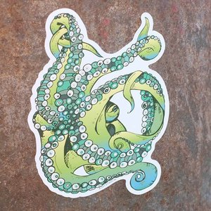 Tentacle- Decal Green