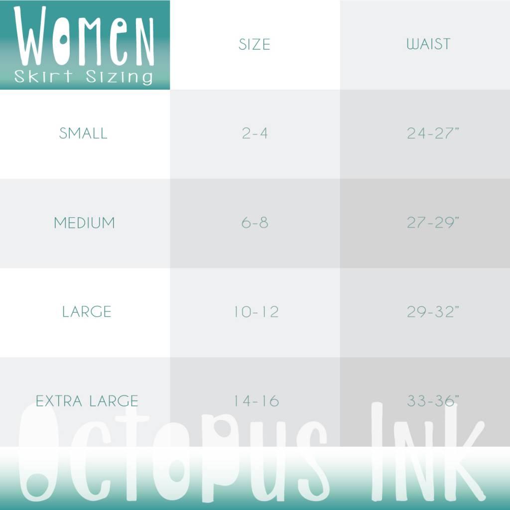 Green Sea Urchin- Skirt
